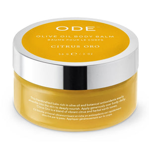 Ode Citrus Oro Olive Oil Body Balm 2oz - Indie Indie Bang! Bang!