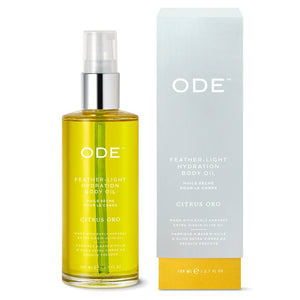 Ode Citrus Oro Feather-Light Hydration Body Oil 3.7 fl oz - Indie Indie Bang! Bang!