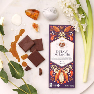 Vosges Dulce De Leche Chocolate Bar - Indie Indie Bang! Bang!