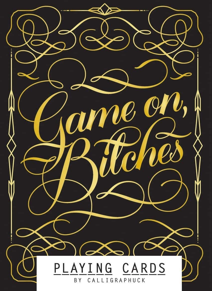 Game on Bitches playing cards - Indie Indie Bang! Bang!