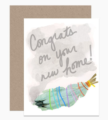 Congrats on Your New Home Card - Indie Indie Bang! Bang!