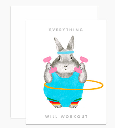 Everything Will Work Out Card - Indie Indie Bang! Bang!