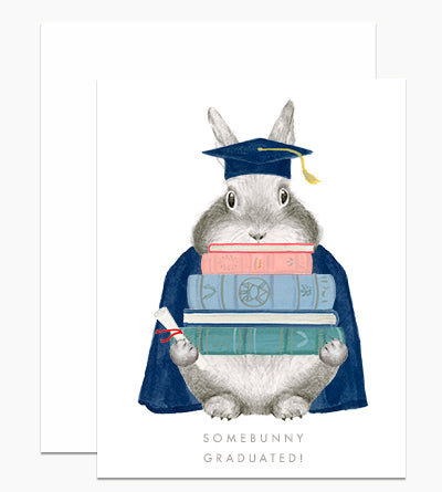 Somebunny Graduated Card - Indie Indie Bang! Bang!