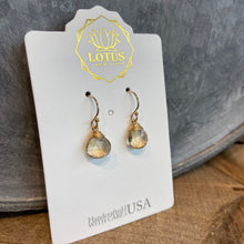 Load image into Gallery viewer, Solo Gem Stone Earrings - Indie Indie Bang! Bang!
