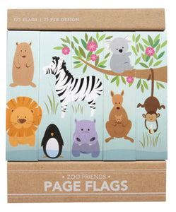 Zoo Friends Page Flags - Indie Indie Bang! Bang!