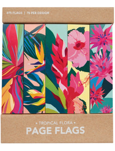 Tropical Flora Page Flag - Indie Indie Bang! Bang!