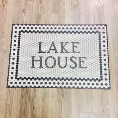 Lake House Door Mat - Indie Indie Bang! Bang!