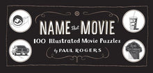 Load image into Gallery viewer, Name That Movie: 100 Illustrated Movie Puzzle Book - Indie Indie Bang! Bang!