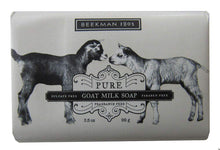 Load image into Gallery viewer, Pure Fragrance Free Goat Milk Bar Soap - Indie Indie Bang! Bang!
