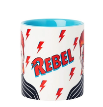 Load image into Gallery viewer, David Bowie Rebel Rebel Mug - Indie Indie Bang! Bang!