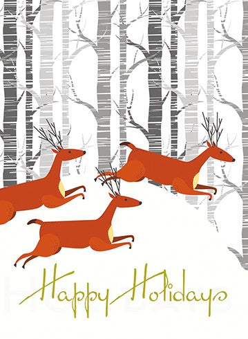 Tiny Reindeer Holiday Box Card - Indie Indie Bang! Bang!