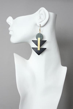 Load image into Gallery viewer, David Aubrey: Hierarchy Earrings - Indie Indie Bang! Bang!