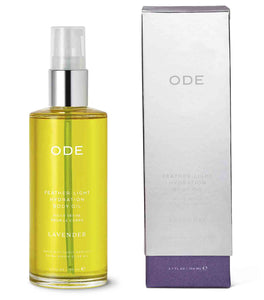 Ode Lavender Feather-Light Hydration Body Oil 3.7 fl oz - Indie Indie Bang! Bang!