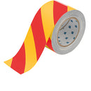 Brady Ts-76.20-514-Rd/Yl-Str-Rl ToughStripe Floor Marking Tape 132431