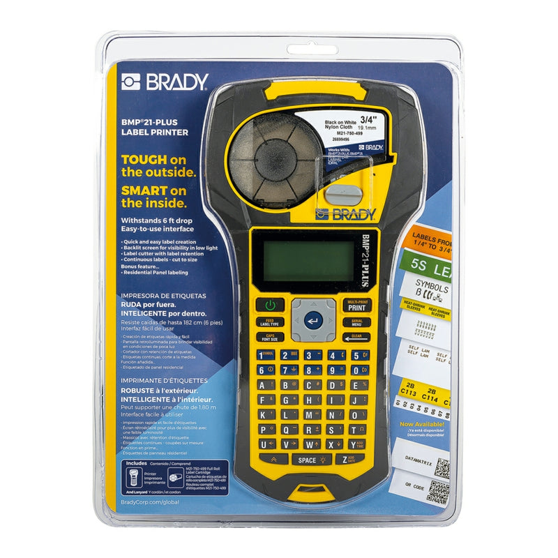 Brady BMP21-PLUS Portable Label Printer