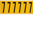 Brady 1550-7 Identical numbers and letters on one card for indoor and outdoor use 044052