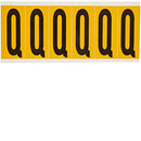 Brady 1550-Q Identical numbers and letters on one card for indoor and outdoor use 044071