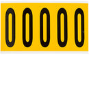 Brady 1560-O Identical numbers and letters on one card for indoor and outdoor use 097114