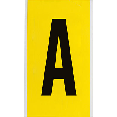Brady 3470-A Identical numbers and letters on one card for indoor use 034711