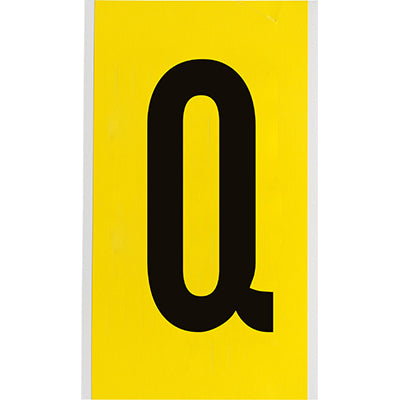 Brady 3470-Q Identical numbers and letters on one card for indoor use 034727