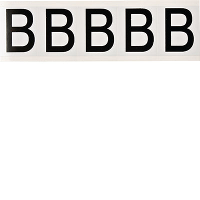 Brady 9714-B Identical numbers and letters on one card for indoor and outdoor use 097683