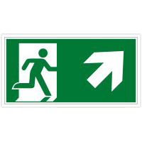 Brady E/A45/E002/Nt-Sa-Pholumc-300X150/1-B Glow-in-the-dark Safety Sign 134662