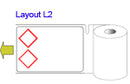 Brady THTCLP-M-L2-7594-1 Pre-printed Benchtop printer labels for CLP-GHS hazardous substances 622284