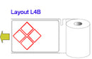 Brady THTCLP-L-L4B-7594-0.5 Pre-printed Benchtop printer labels for CLP-GHS hazardous substances 622300