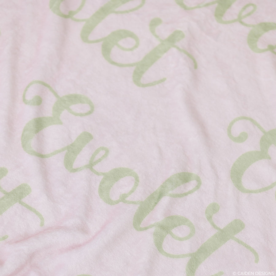 Fancy Name Personalized Blanket