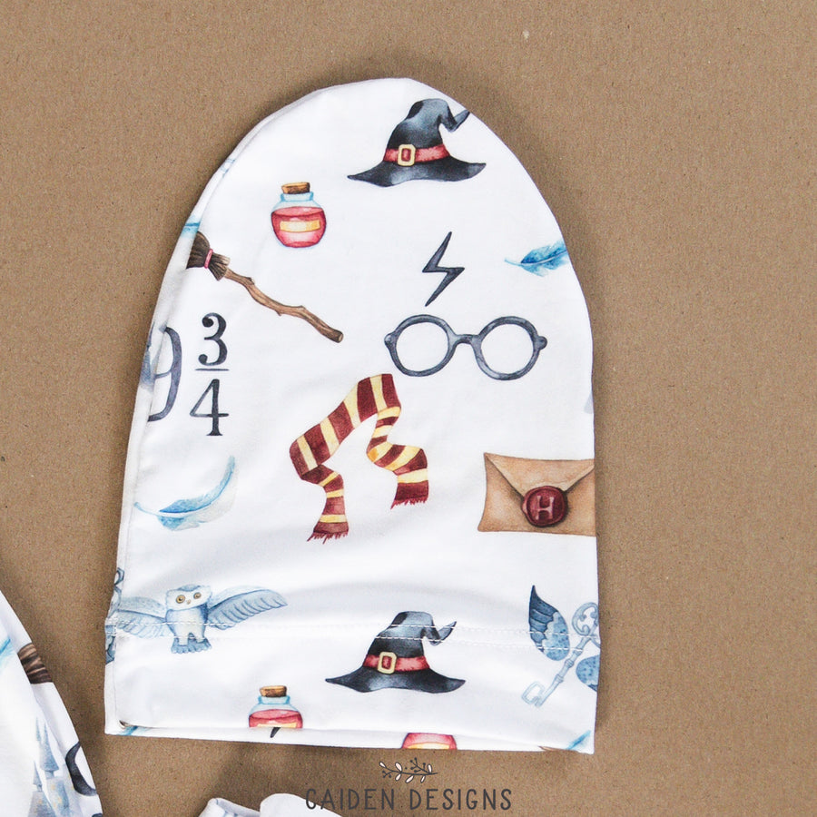 Harry Potter Inspired Personalized Baby Hat