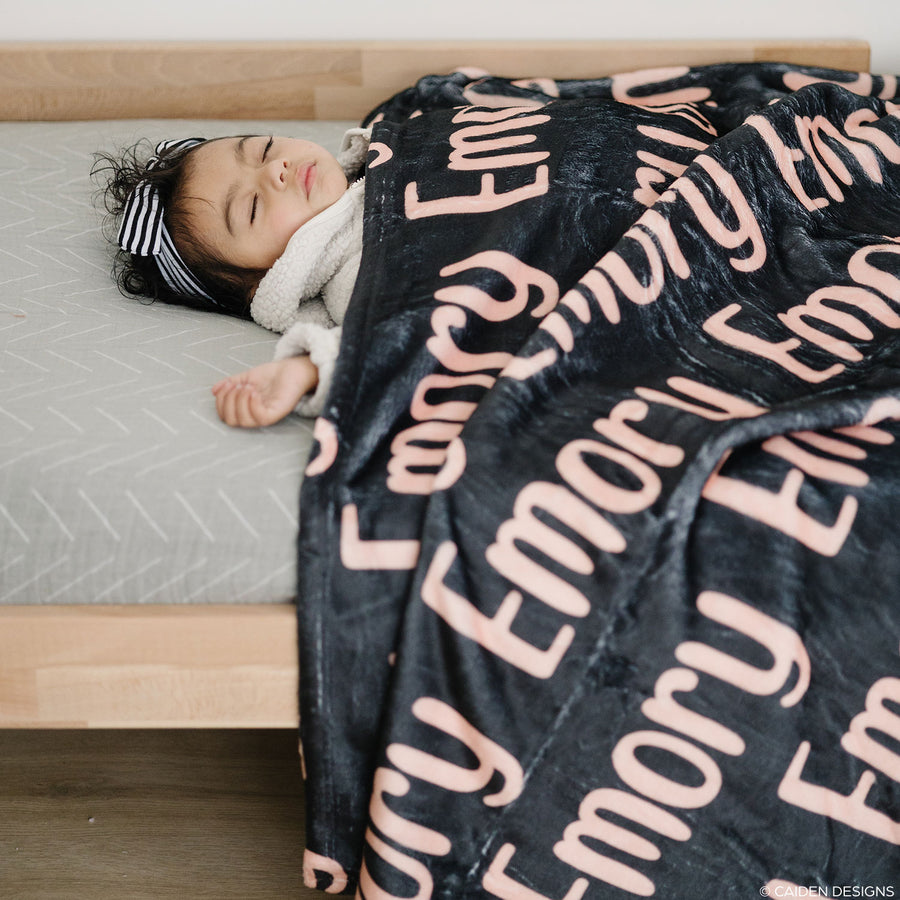 Quirky Name Personalized Blanket