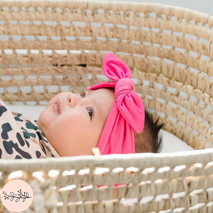 Solid Knotted Baby Headband