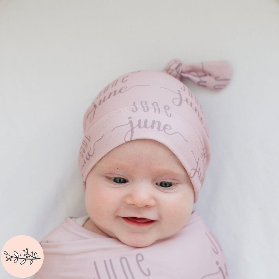 Sunshine Duo Name Personalized Baby Hat