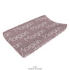 Thin Block Personalized Name Changing Pad Cover