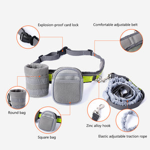 Hands Free Waist Belt Jogging With Yout Dog