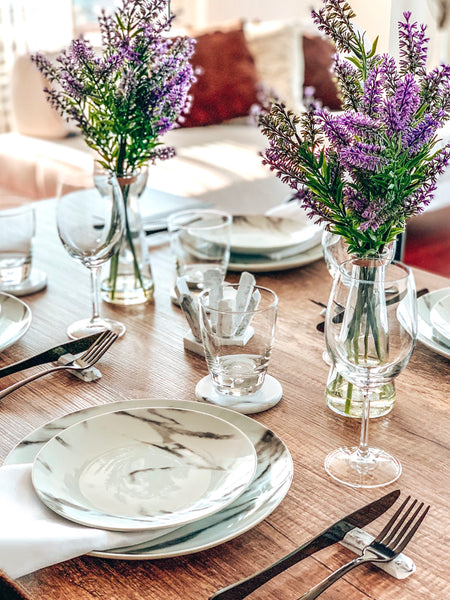 Utensil Rest – A great way to enhance your tablescape and reduce the risk of Covid 19