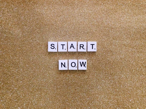 start now motivation quote