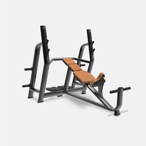 Olympic Incline Bench (with plate storage)