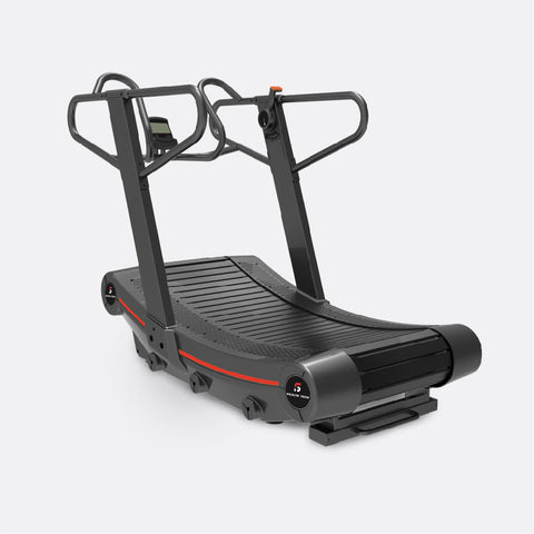 Digital Display Curve Treadmill