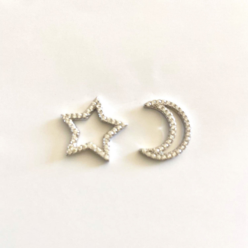 Moon and Starlight Earrings