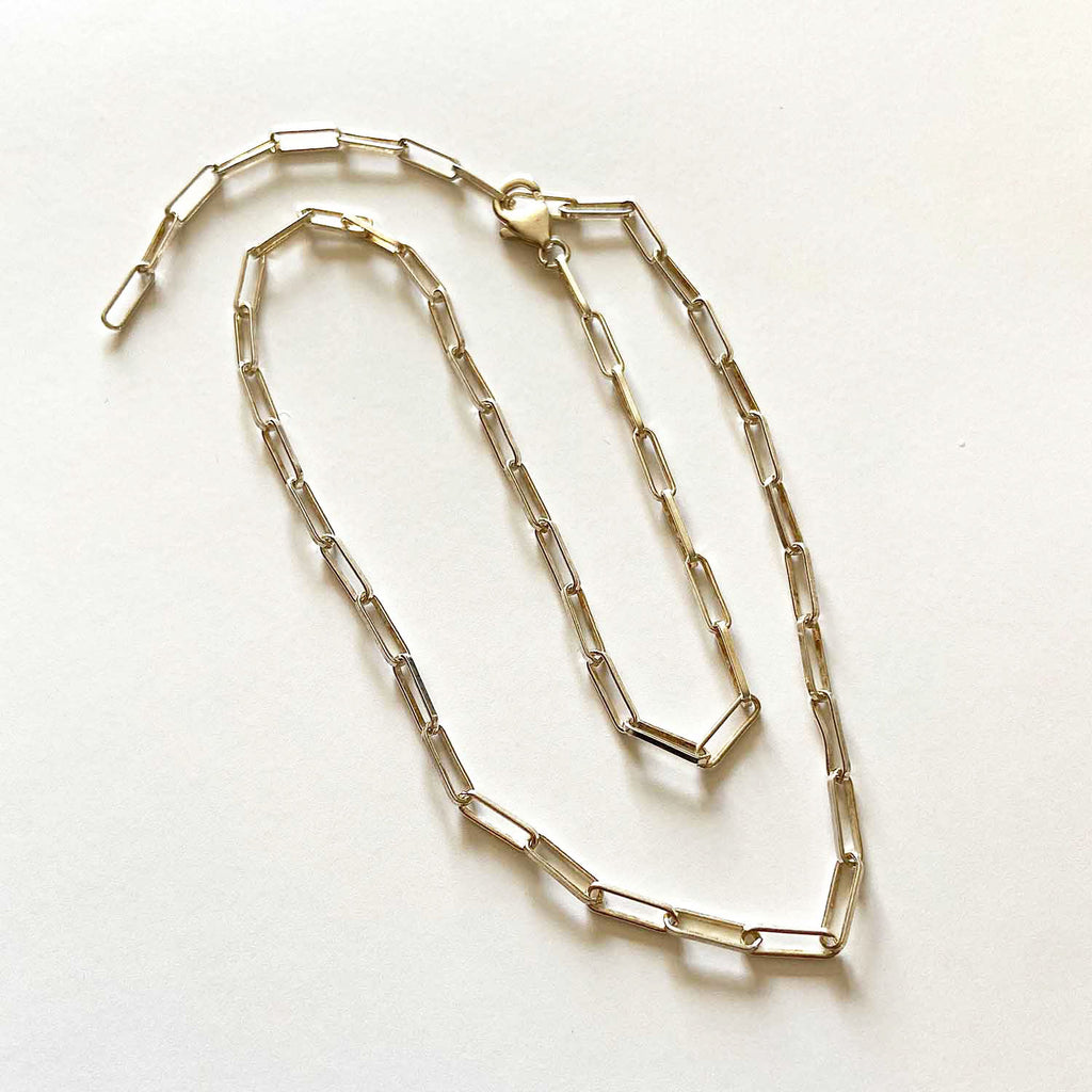 Paperclip Chain Necklaces