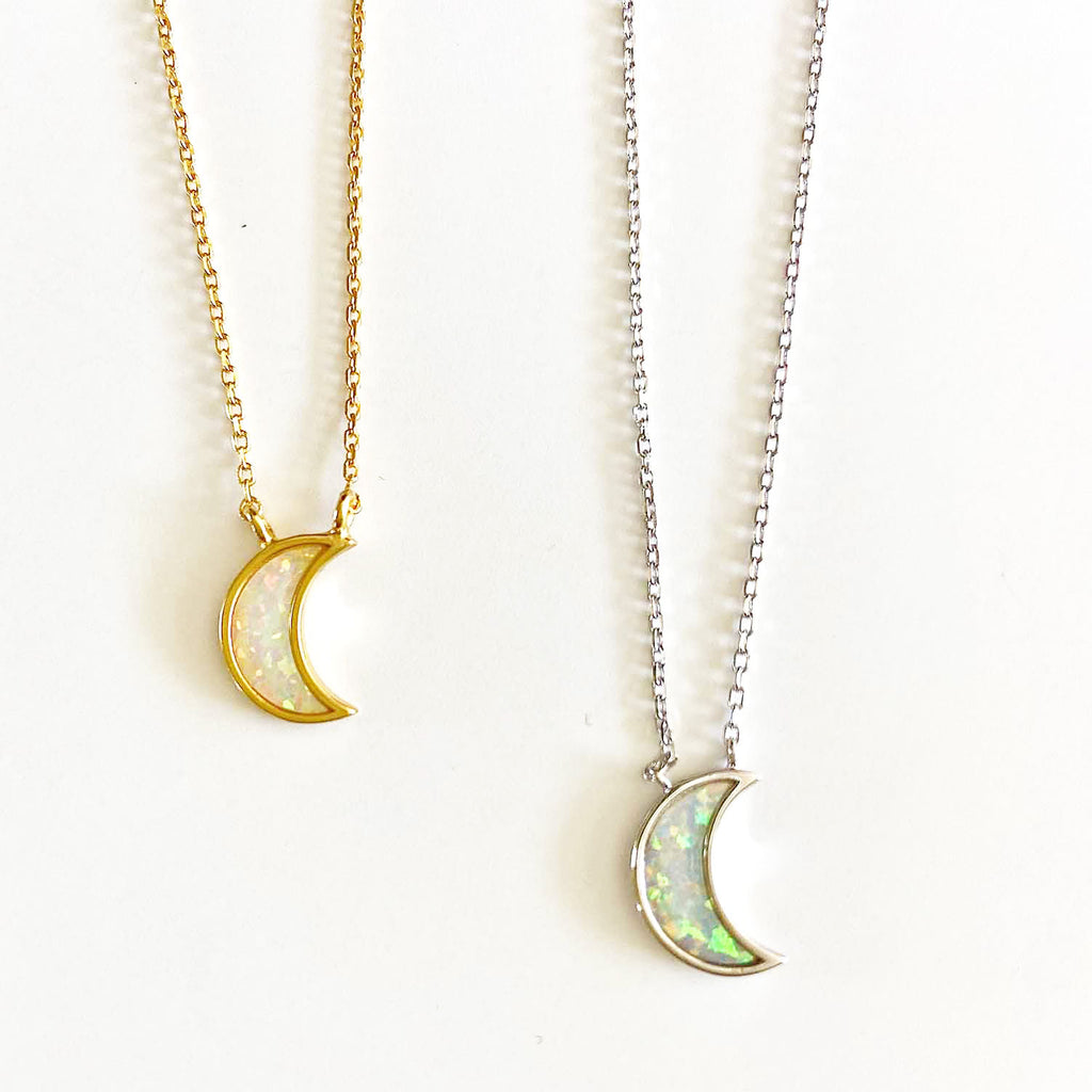 Moon Opal Necklace
