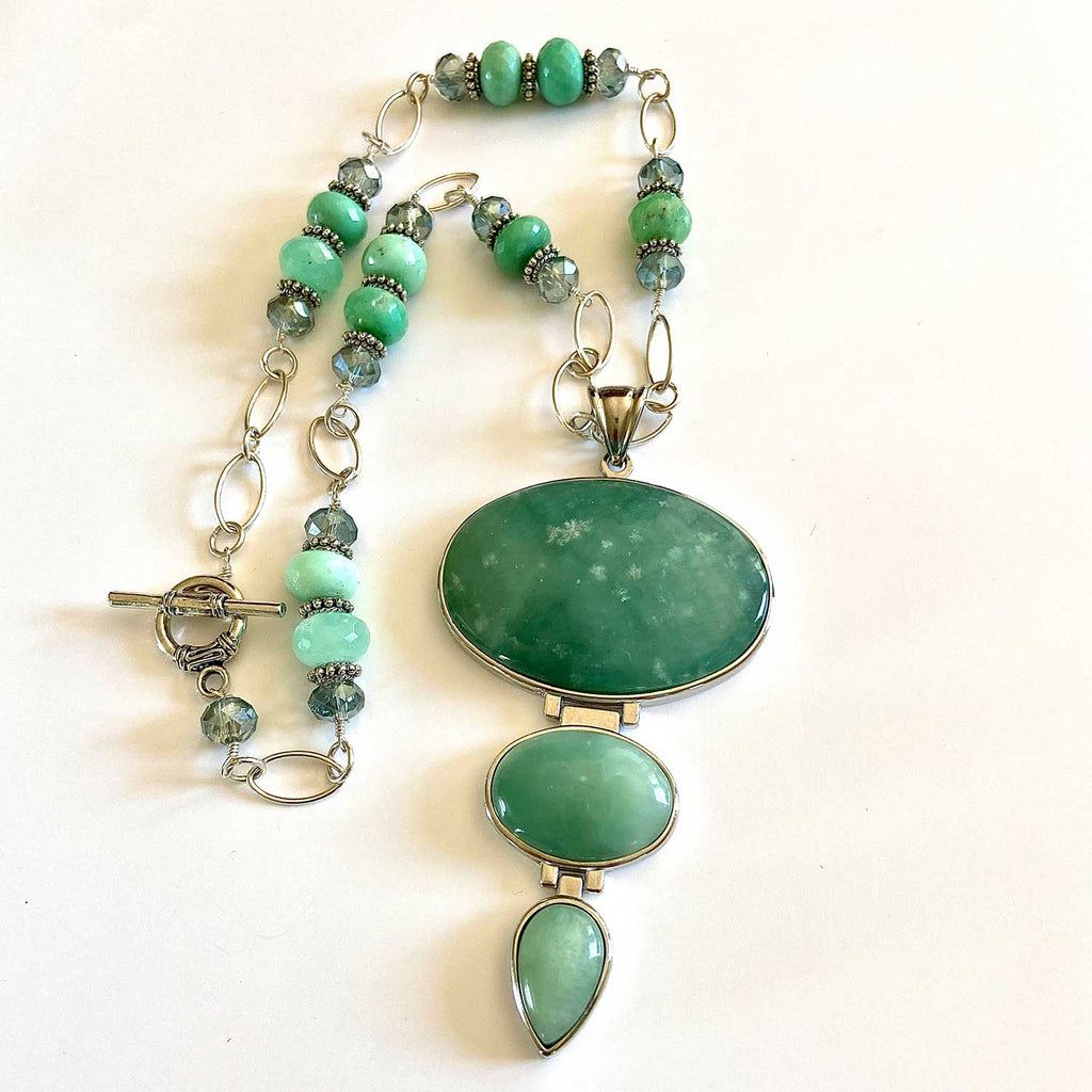 Jade Cyrophrase Necklace