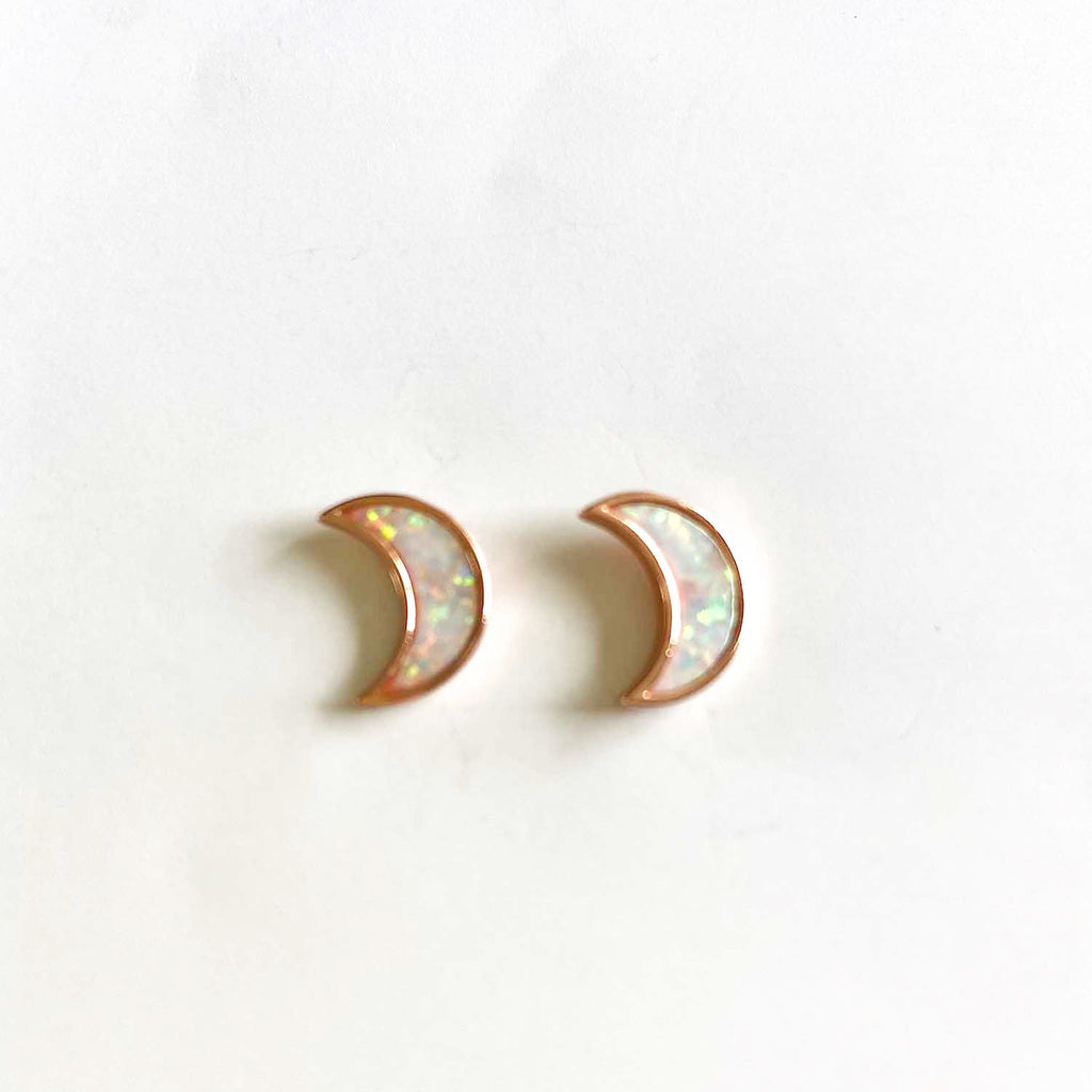 Lunar Opal Earrings