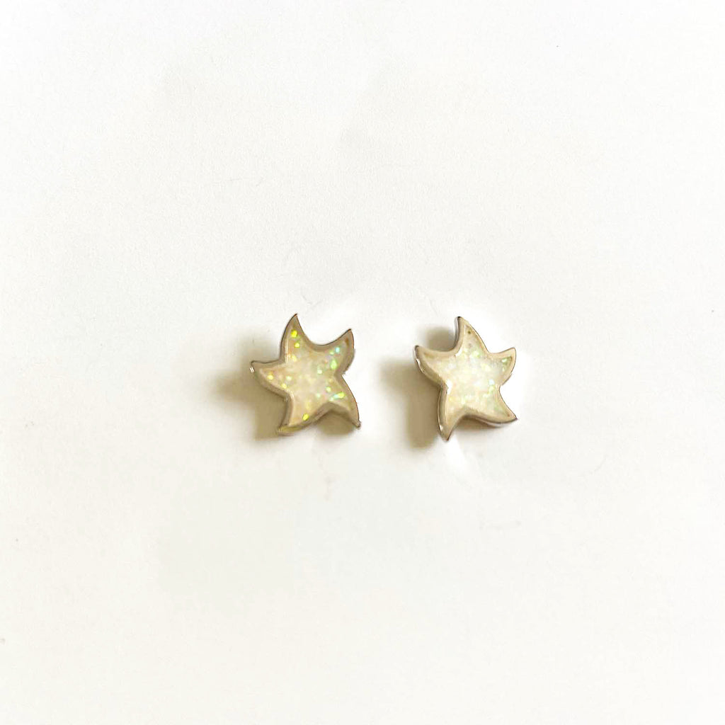 Starfish Opal Earrings