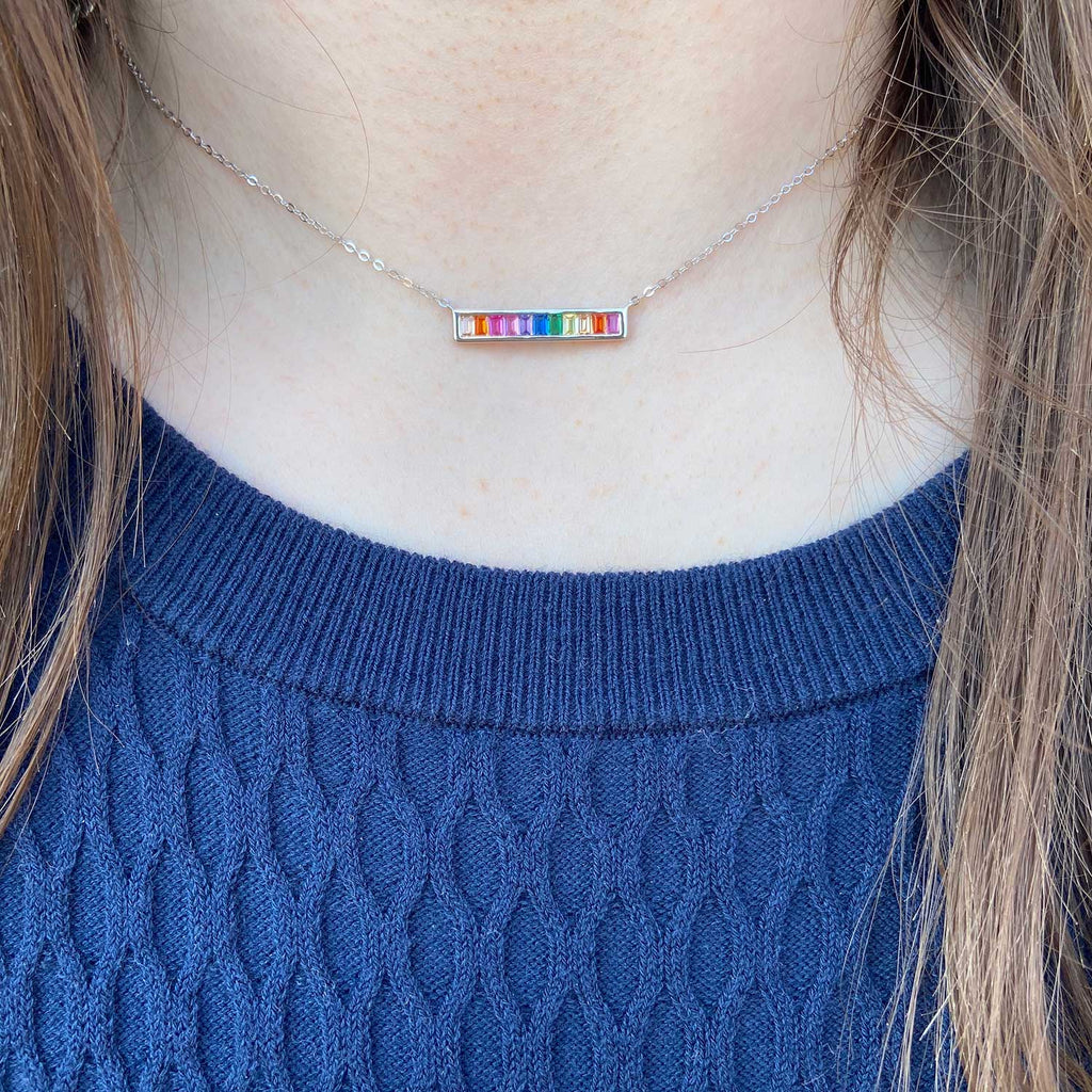 Pride Bar Necklace