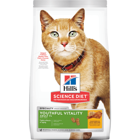 Alimento Hill's Feline Adult 7+ Youthful Vitality 1.4kg