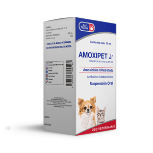 Amoxipet Jr Suspensión Oral 15ml