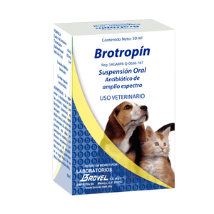 Brotropin Suspensión Oral 50ml