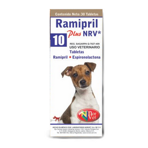 Ramipril Plus 10 Nvr Tabletas
